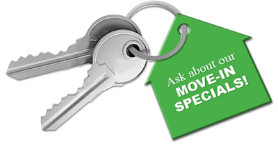 Ask Us About Move In Specials